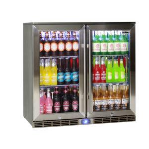 Double door alfresco bar fridges